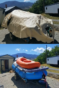 Large - Whitewater Raft Cover