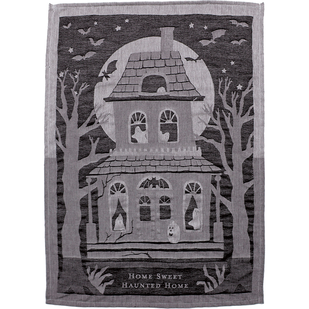 PRE-ORDER -  Dish Towel - Home Sweet Haunted Home