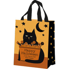 Load image into Gallery viewer, PRE-ORDER Cats Tote - Happy Halloween