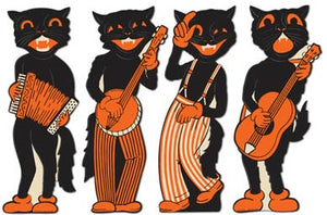 Beistle Halloween - Scat Band Cutouts