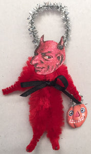 Baubles & Brew Devilish Chenille Figure Ornament
