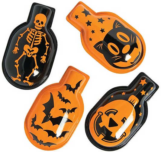 Retro Style Halloween Clicker Noisemakers