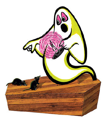 Beistle Halloween - Spooky Ghost 3-D Centerpiece
