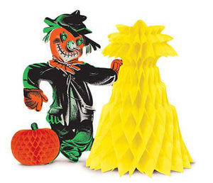 Beistle Halloween - Scarecrow Centerpiece
