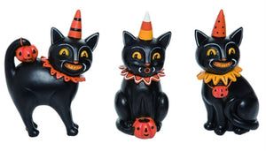 Johanna Parker Black Cat Figurines