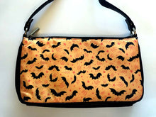 Load image into Gallery viewer, Johanna Parker Bats on Yellow Clutch Bag