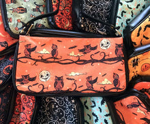 Load image into Gallery viewer, Johanna Parker Full Moon Owls Clutch Bag