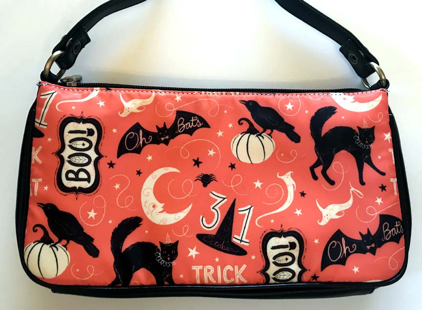 Johanna Parker Trick or Treat Boo Clutch Bag