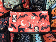 Load image into Gallery viewer, Johanna Parker Trick or Treat Boo Clutch Bag
