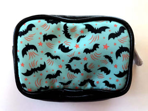 Johanna Parker Bats on Teal Coin Purse or Case