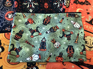Johanna Parker Halloween Collectibles Pouch or Cosmetic Bag