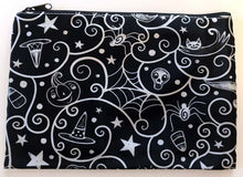 Load image into Gallery viewer, Johanna Parker Swirl Cobwebs Pouch or Cosmetic Bag