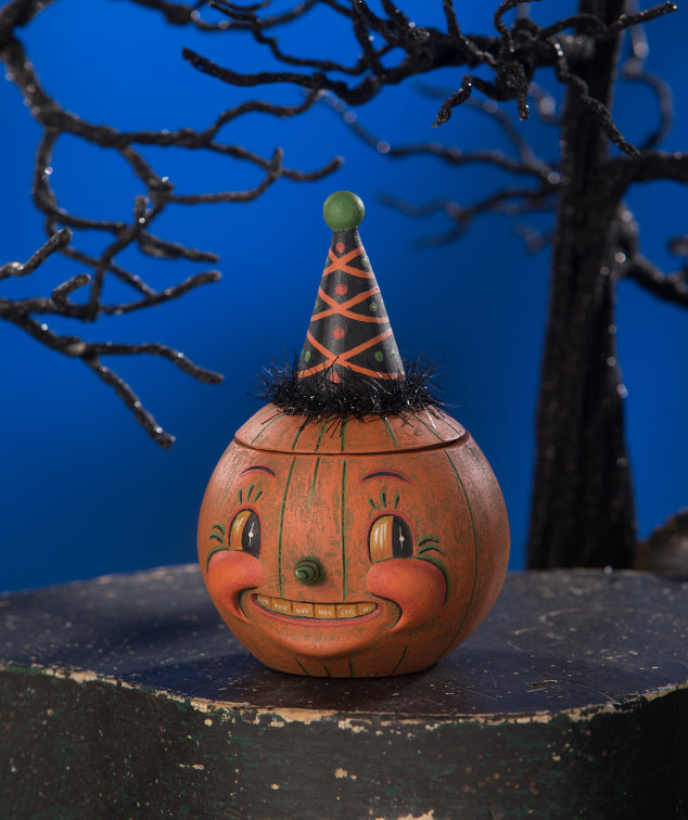 Johanna Parker Jackie Orange-O-Ween Container