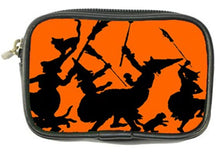 Load image into Gallery viewer, Bewitching Halloween Witches Dance Coin Purse