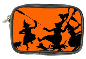 Bewitching Halloween Witches Dance Coin Purse