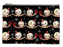 Load image into Gallery viewer, Johanna Parker Spookmas Snowmen Pouch