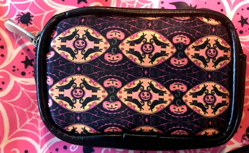 Johanna Parker Pink Jumping Cats Coin Purse or Case