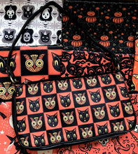 Load image into Gallery viewer, Johanna Parker Cat & Owl Clutch Bag