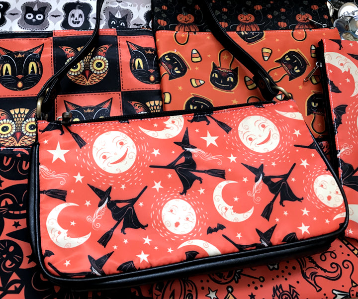 Johanna Parker Flying Witches Clutch Bag