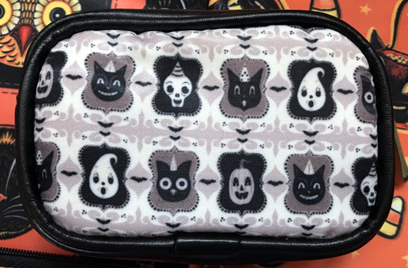 Johanna Parker B/W Spooky Ghoul-Friends Coin Purse or Case