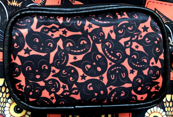Johanna Parker Black Cat Masks Coin Purse or Case