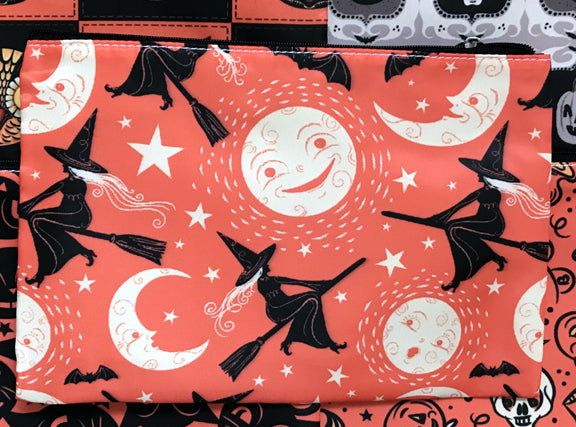 Johanna Parker Flying Witches Pouch or Cosmetic Bag