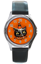 Load image into Gallery viewer, Johanna Parker Cat Face Watch