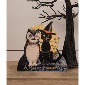 PRE-ORDER Black Cat and Owl Friends Dummy Board