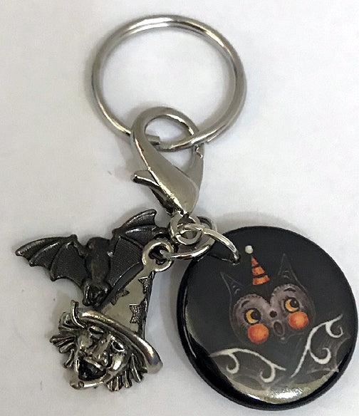 Johanna Parker Bat Key Chain/Clip