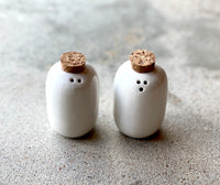 Corked Salt and Pepper Set