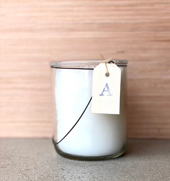 Twig Hand Poured Candle - Amber - A