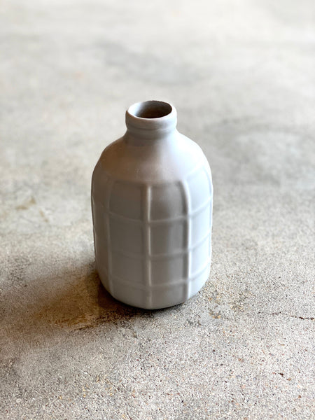 Matte Bottle Bud Vase