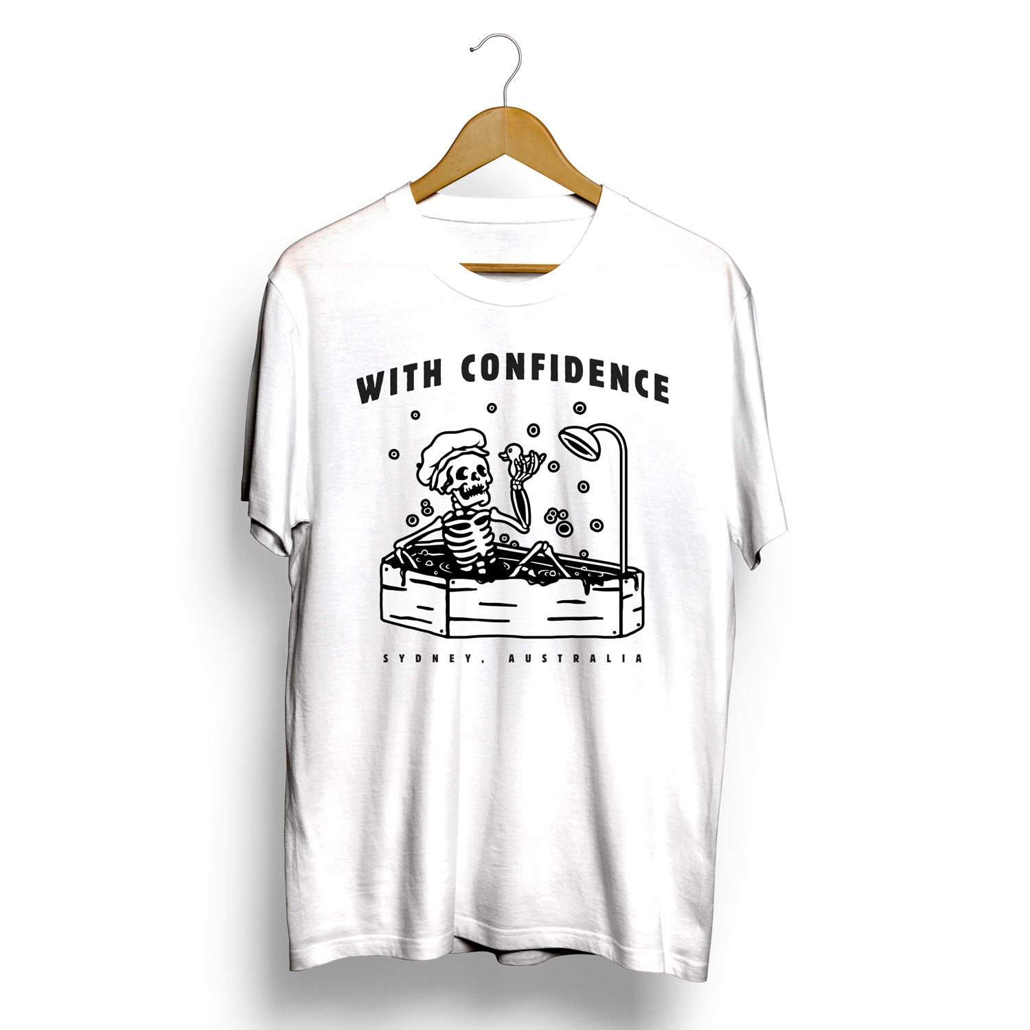 WITH CONFIDENCE T-SHIRT