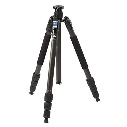 "Sirui W-1204 4-Section Waterproof Carbon Fiber Tripod, 33.1lbs Capacity, 65"" Maximum Height"