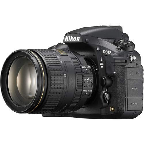 Nikon D810 DSLR Camera with 24-120mm Lens (International Model)