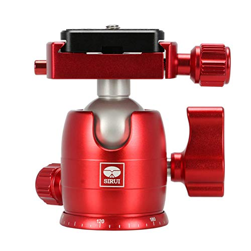 Sirui B-00 Series Mini Ball Head (Red)
