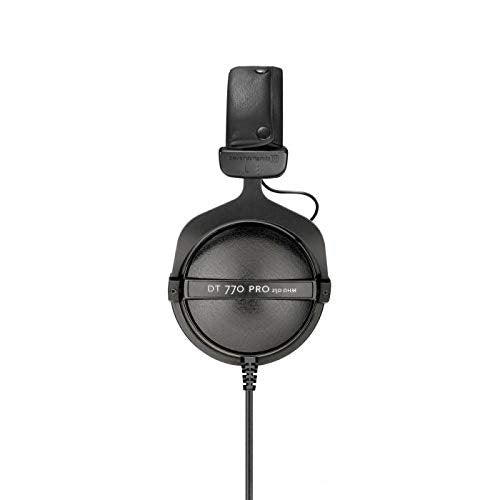 Beyerdynamic DT 770 Pro 250 Ohm Closed-Back Studio Mixing Headphones -Includes- Soft Case, Splitter, and 1-Year Extended Warranty