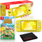 Nintendo Switch Lite (Yellow) Bundle with Animal Crossing: New Horizons