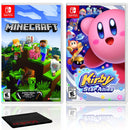 Minecraft + Kirby Star Allies - Two Game Bundle - Nintendo Switch