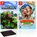 Minecraft + Donkey Kong Country - Two Game Bundle - Nintendo Switch
