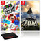 Super Mario Party + Zelda: Breath of the Wild - 2 Game Bundle - Nintendo Switch