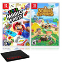 Super Mario Party + Animal Crossing - Two Game Bundle - Nintendo Switch