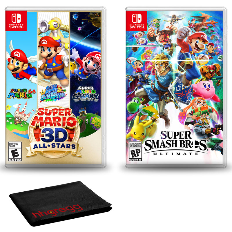 Nintendo Switch Super Mario 3D All-Stars with Super Smash Bros. + Cloth