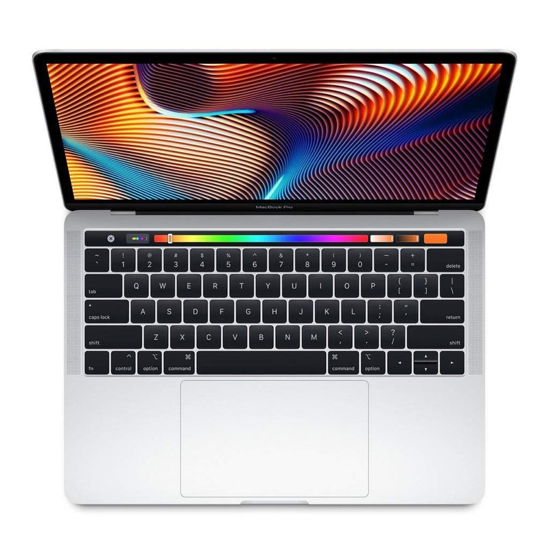 "Apple MacBook Pro (13"" Retina, Touch Bar, 2.3GHz Quad-Core Intel Core i5, 8GB RAM, 512GB SSD) - Silver (Latest Model)"