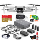DJI Mavic Mini Fly More Combo CP.MA.00000123.01 With Mavic Sleeve, VR Glasses and More- Fly Now Bundle