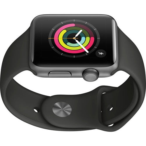 Apple Watch Series 3 42mm - GPS Only Black Sport Band