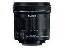 Canon EF-S 10-18mm f/4.5-5.6 IS STM Lens (International Model)