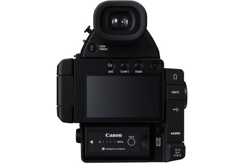 Canon EOS C100 Mark II Cinema EOS Camera with Dual Pixel CMOS AF (Body Only) International Version (No Warranty)