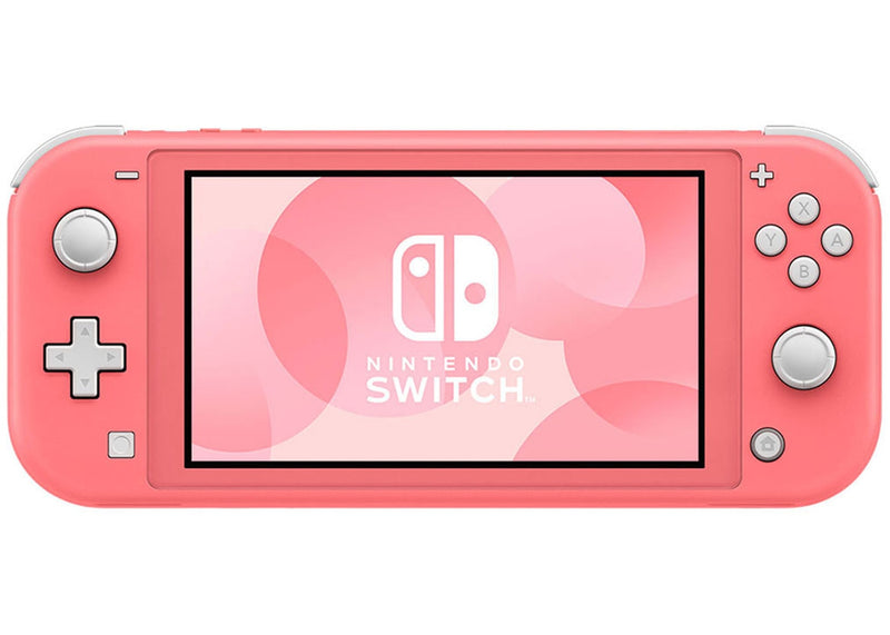 Nintendo Switch Lite (Coral) Bundle with Cleaning Cloth and Captain Toad: Treasure Tracker