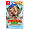 Nintendo Switch with Neon Blue and Red Joy-Con Bundle with Donkey Kong Country: Tropical Freeze